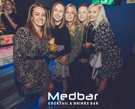 Medbar group at nightclub